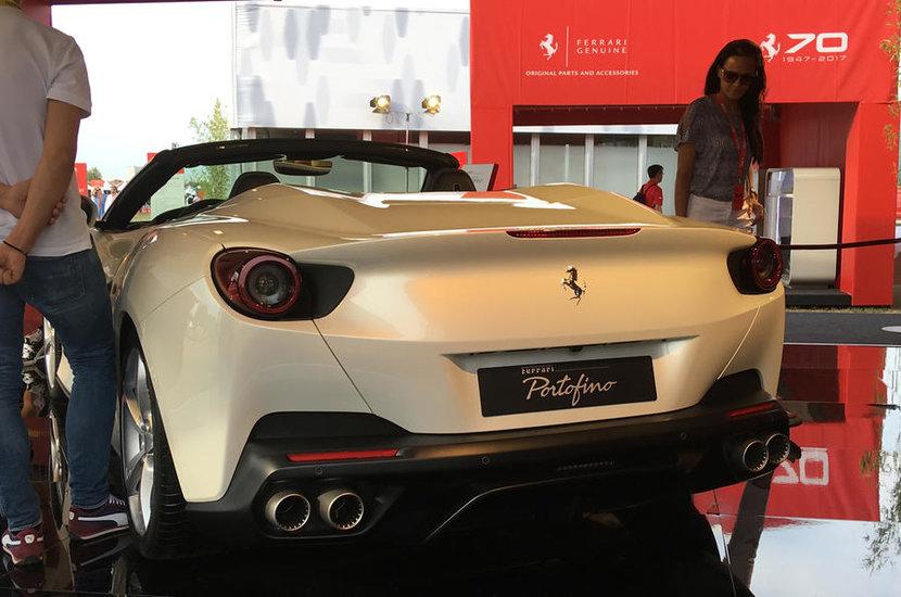 Ferrari, Ferrari Portofino, Ferrari's 70th anniversary, Frankfurt motor show, Ferrari unveil their latest product, A unique combination of sportiness, Elegance and on board comfort to celebrate 70 years of Ferrari