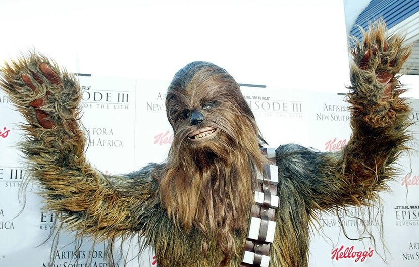 'Chewbacca' be kidding me
