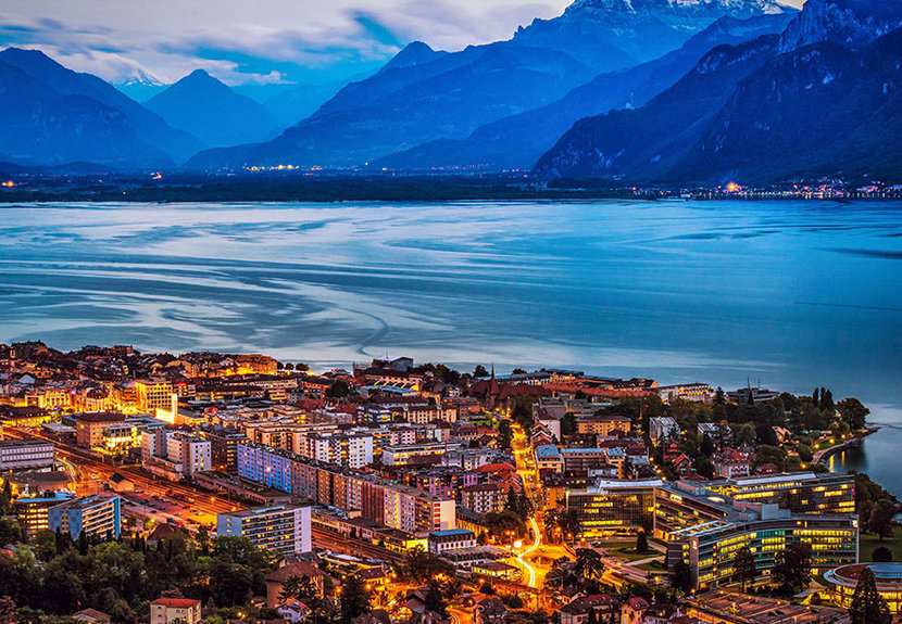 Montreux is the ultimate quaint Swiss lakeside town