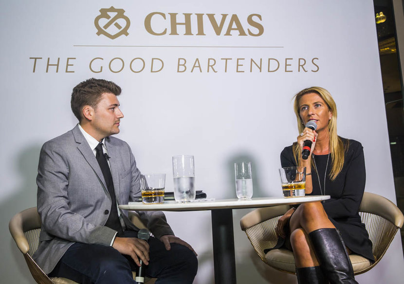 Donna Benton, The Entertainer, The Good Bartenders, Chivas