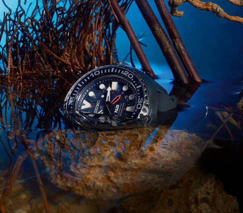 SUN065P1 Seiko Prospex PADI Edition Kinetic Divers, 200 meters AED2,575