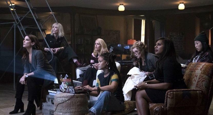 Ocean's 8, Sandra Bullock, Cate Blanchett