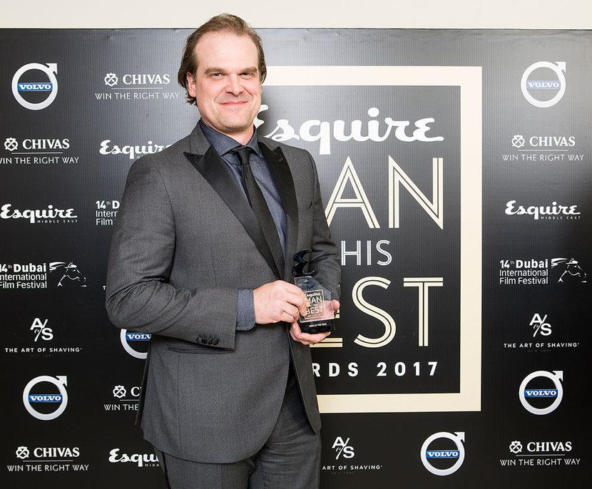 David Harbour, MAHB Awards 2017