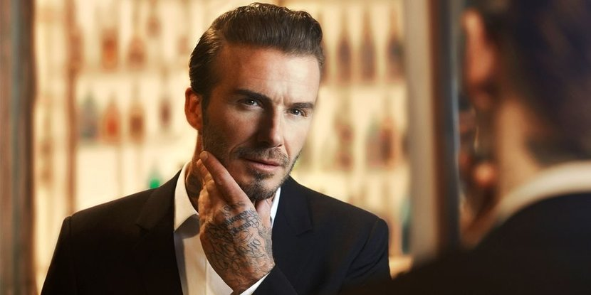 David Beckham is really, really, good-looking. Now you can be, too