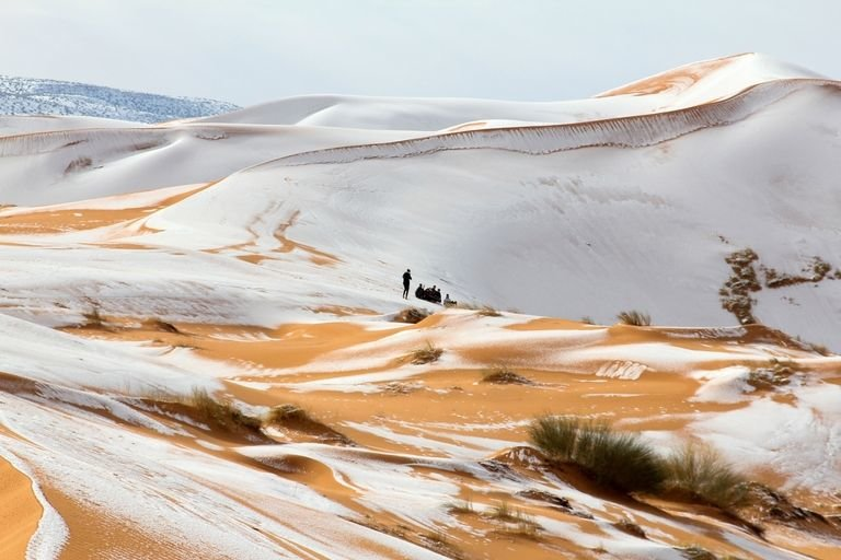 Sahara, Nature, Desert, Photos
