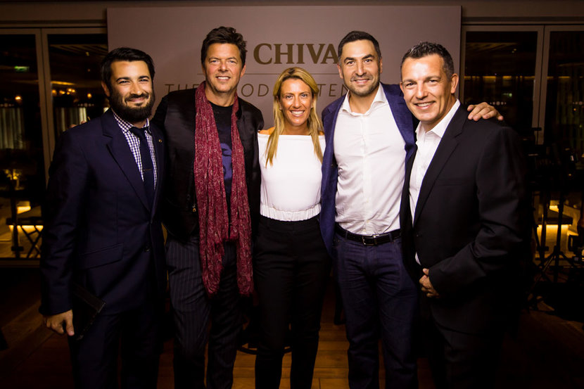 Esquire's Matthew Baxter-Priest, Thomas Lundgren, Donna Benton, Idriss Al Rifai and Greg Moore