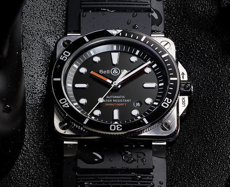Watches, Bell & Ross, B&R, Bell & Ross BR 03-92, BR 03-92, Talking Time