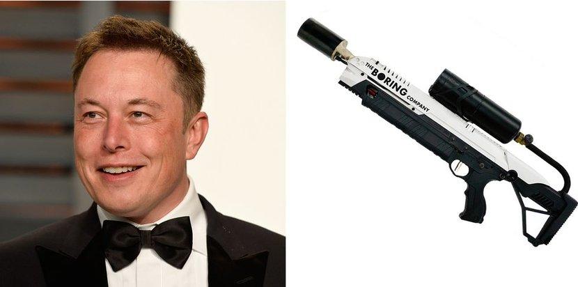 Elon musk, Flamethrowers, The Boring Company