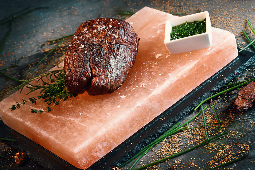 Steak from the new menu
