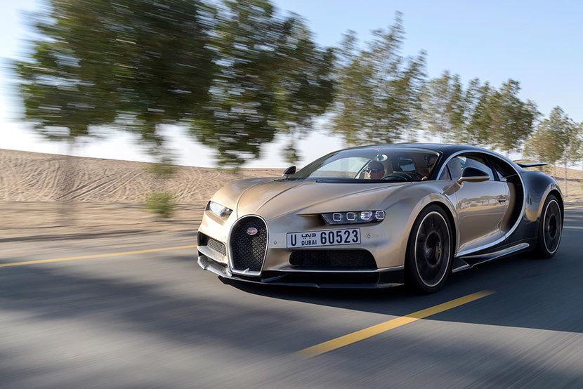 Bugatti chiron, Bugatti