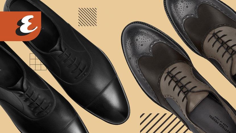 Evergreen, Oxford, Brogue, Shoes, Footwear, Wingtips, Derby, Semi-Brogue
