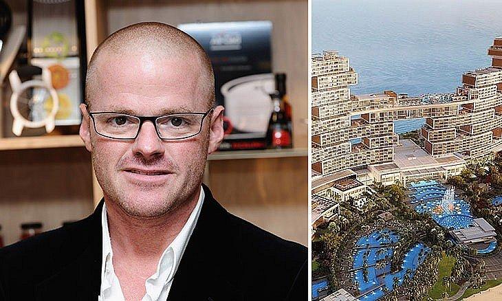 Heston Blumenthal, The Royal Atlantis, The Palm, Restaurants