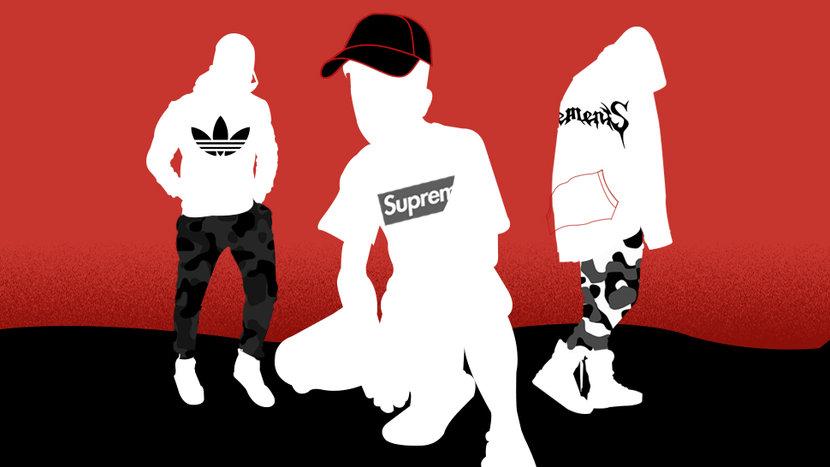 Hypebeasts, Stussy, Supreme, Billionaire Boys Club, Evergreen