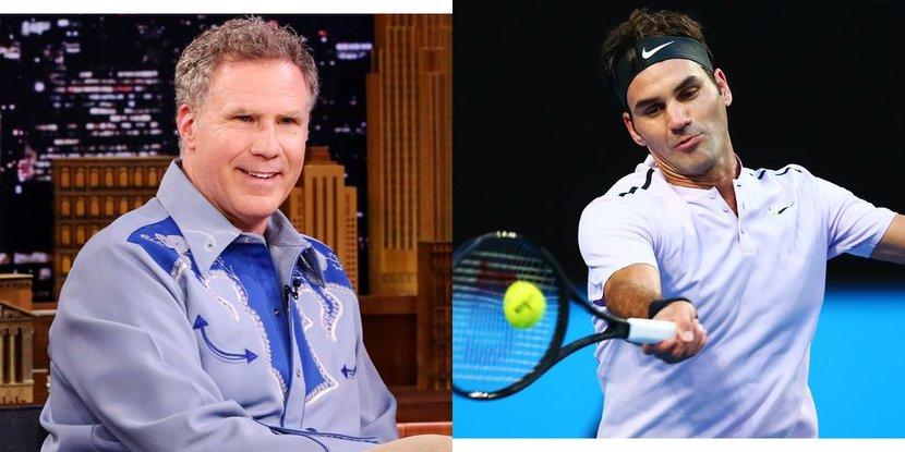 Roger Federer, Will Ferrell