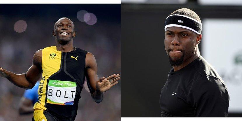Kevin Hart, Usain Bolt, Sports