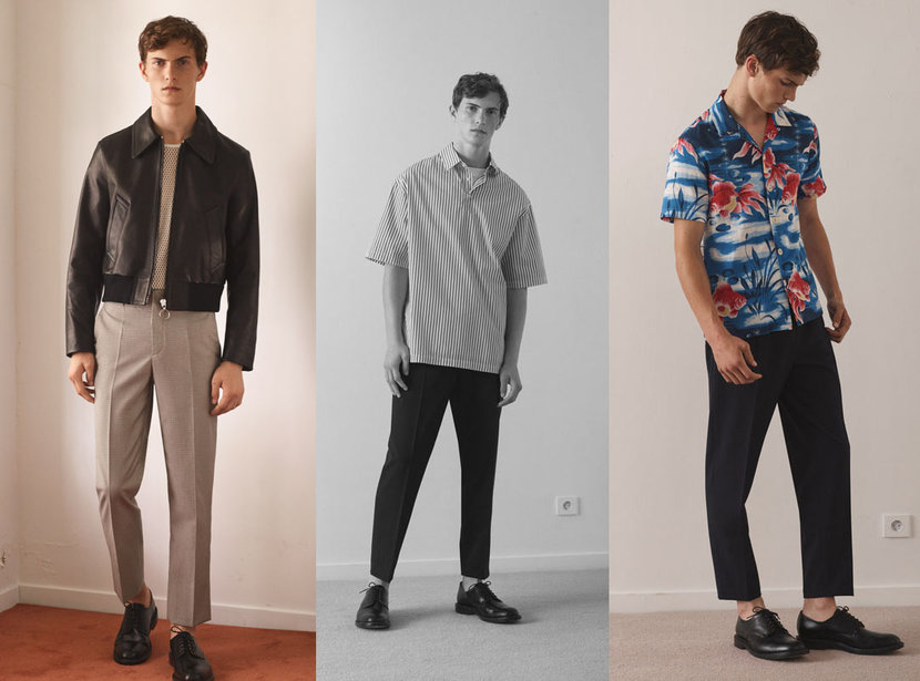Sandro Homme SS18 collection celebrates 10 years of style
