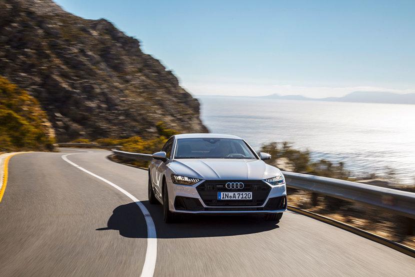 Audi, A7, May 2018, Magazine