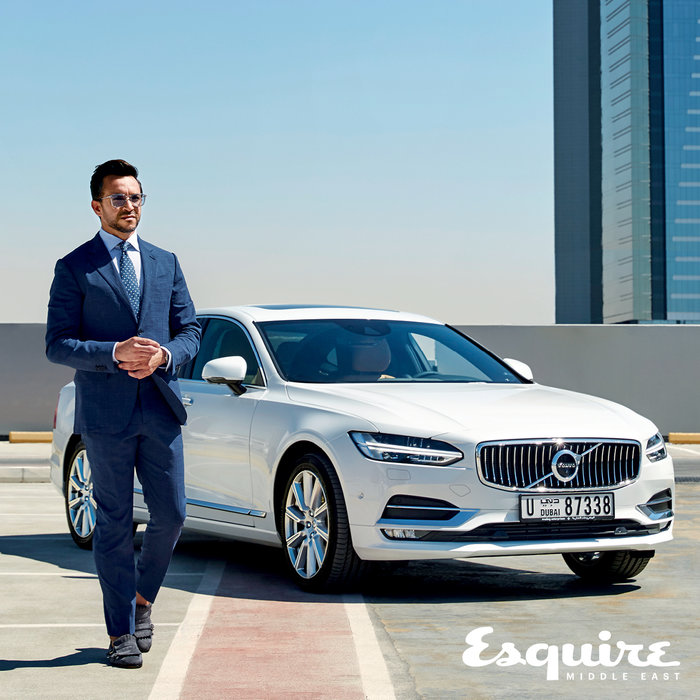 The new Volvo S90 is the perfect companion to good style