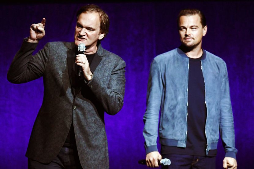 Quentin Tarantino, Leonardo DiCaprio, Brad Pitt, Once Upon a Time in Hollywood