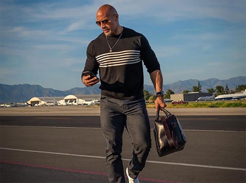 The Rock, Style, Street style, Dwayne Johnson, Celebrity Style