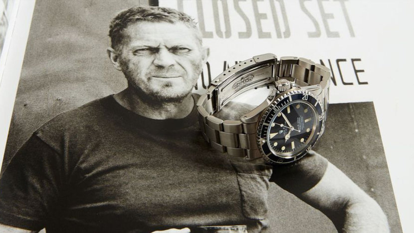 Rolex, Steve McQeen