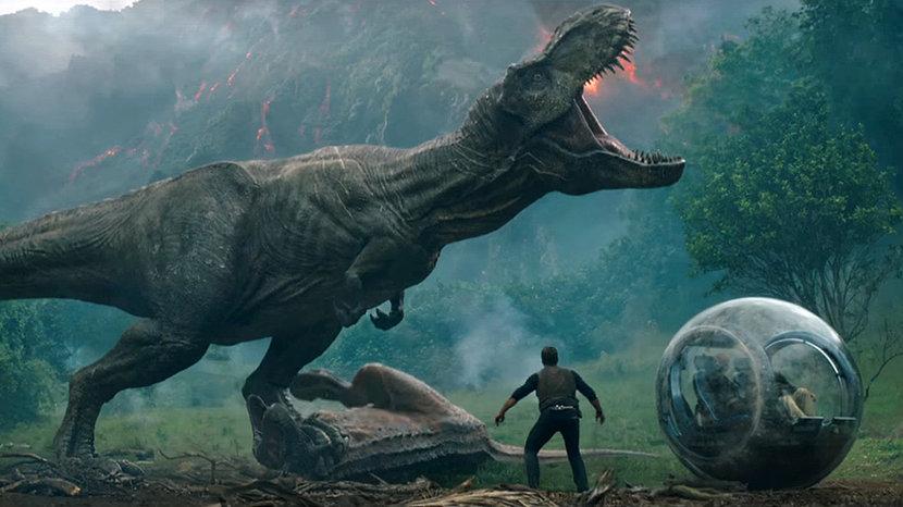 Fallen Kingdom, Jurassic park