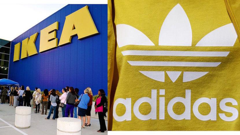 IKEA, Adidas