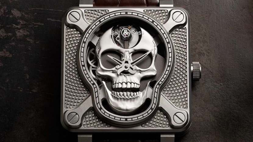 Bell & Ross, Bell Ross, BR 01, Laughing Skull