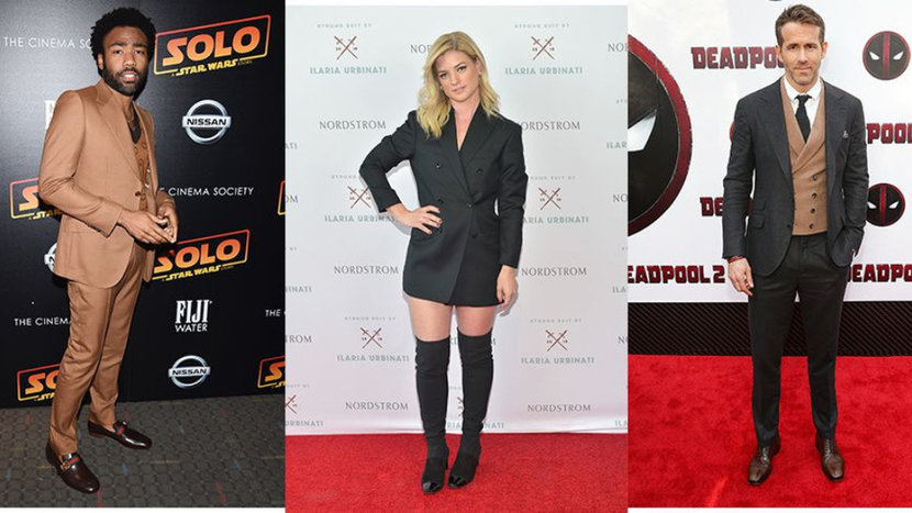 The Rock, Ryan Reynolds, Donald Glover, Ilaria Urbinati, Stylist, Celebrity Style