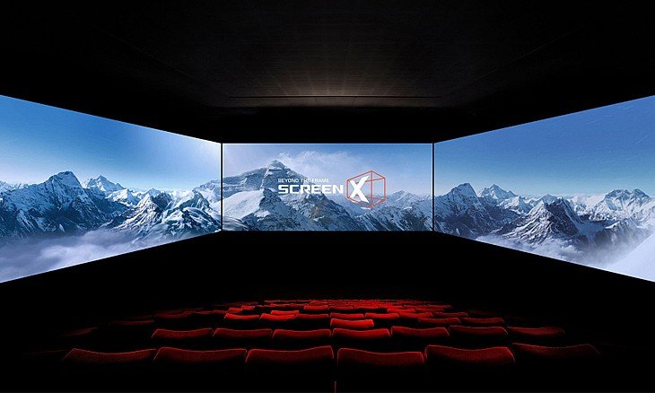 Dubai Mall, Reel Cinemas, Screen X, ScreenX, 270-degree Cinema