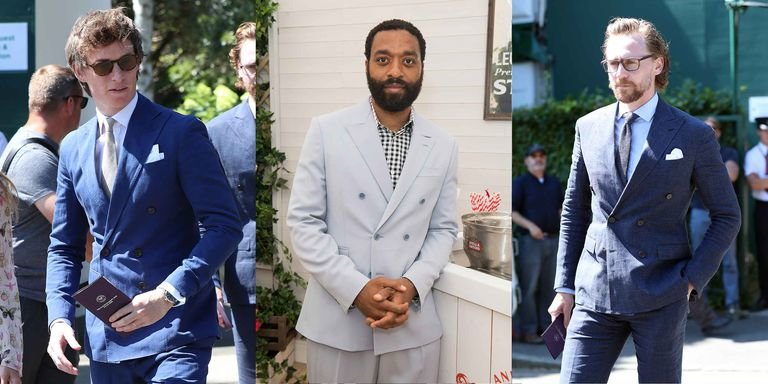 Suit Supply, Wimbledon, Double-breasted suits, Celebrity Style