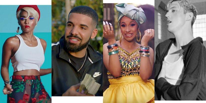 Music, Cardi B, Beyonce, Jay-Z, Drake, J. Balvin, Kacey Musgraves, Charli XCX, Janelle Monae, Troye Sivan