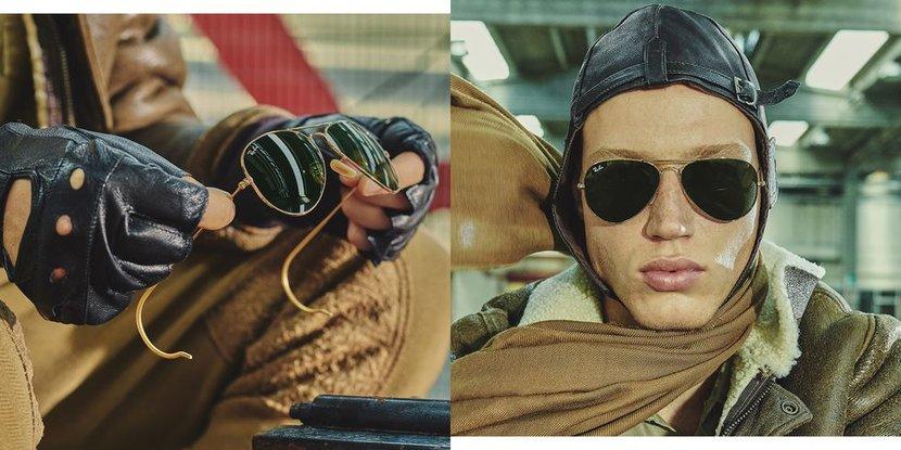 Ray-ban, Ray-Ban Aviators, Ray-Ban Reloaded, Sunglasses