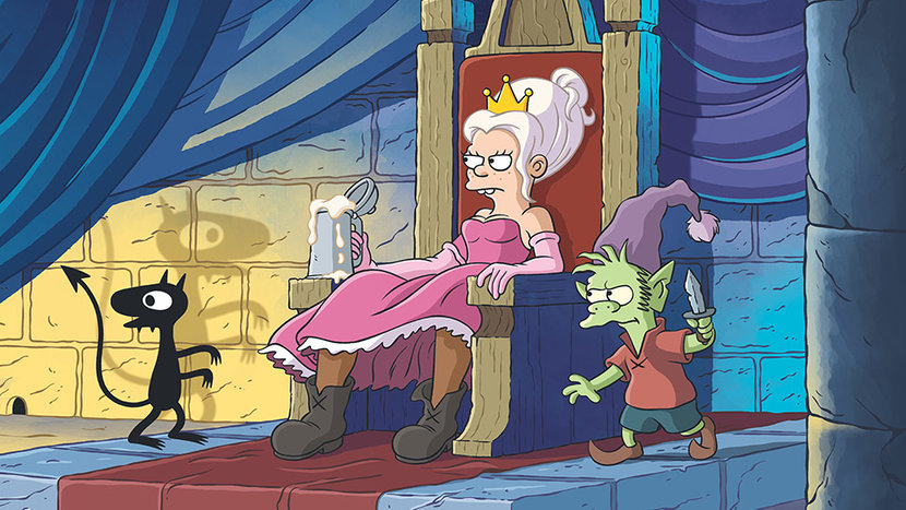 Matt Groening, Disenchantment, The Simpsons