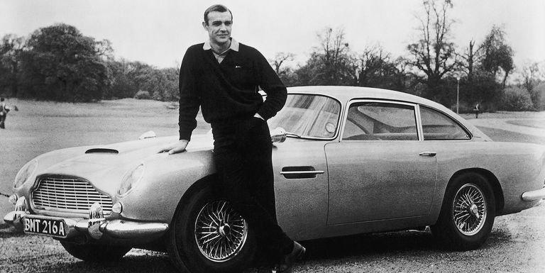 Aston Martin, Aston Martin DB5, Goldfinger
