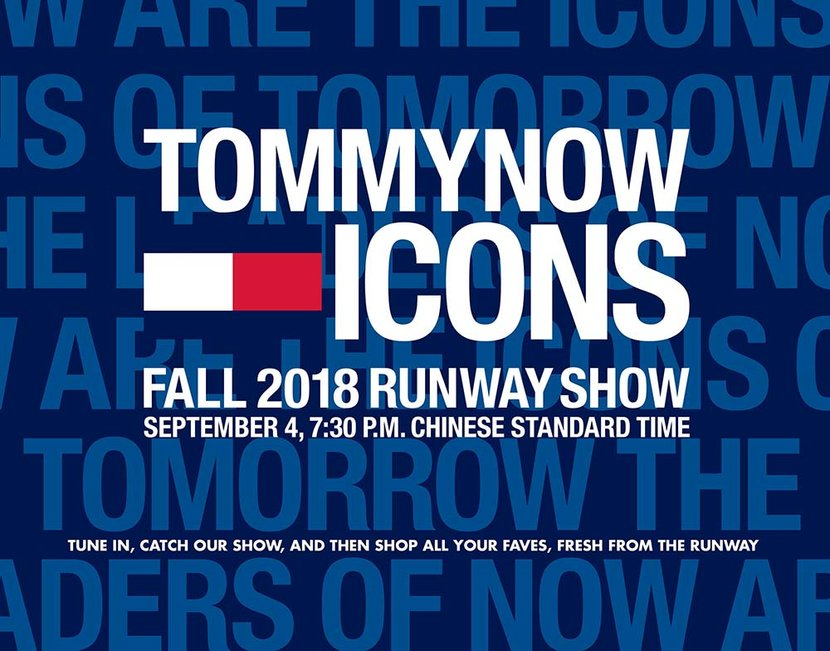 Tommy Hilfiger, TommyNow, Icons, Fall Winter 2018