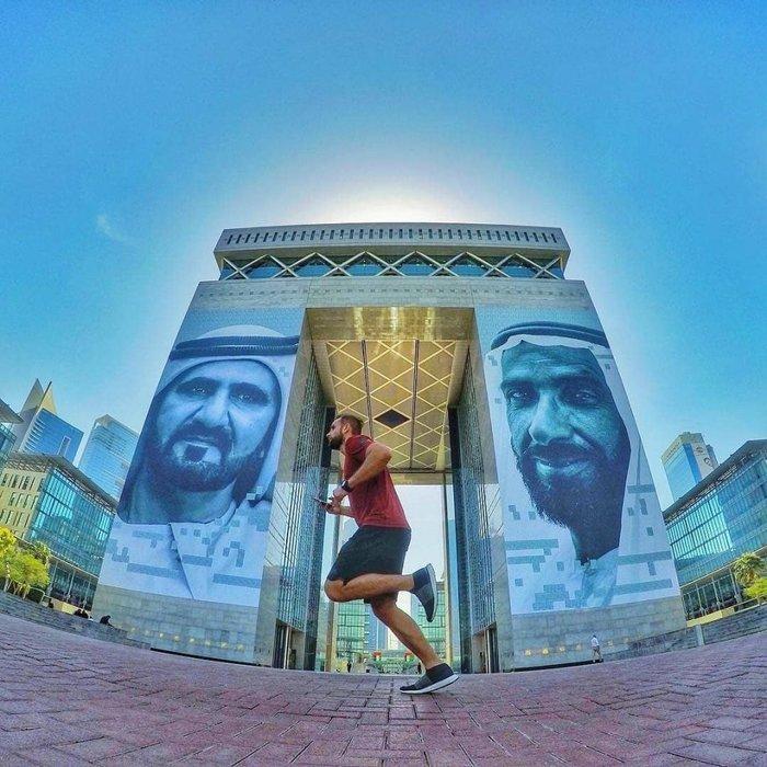 Dubai Fitness Challenge, Sheikh Hamdan