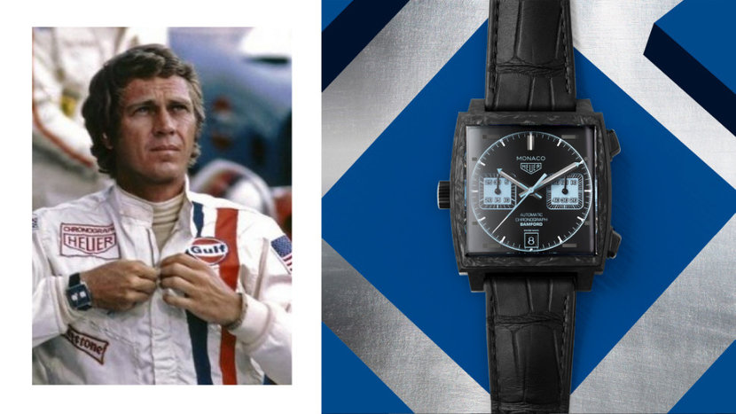 Tag Heuer, TAG Heuer Aquaracer, TAG Heuer Monaco, Bamford Watch Department