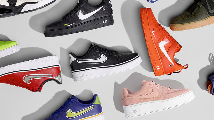 Nike Air Force One, Air Force One, Air Force One Utility, Air Force One NBA, Holiday Wish List 2018
