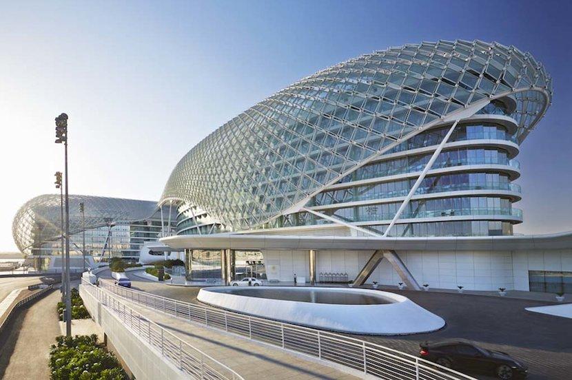Yas Hotel, Abu dhabi, Esquire Does Travel