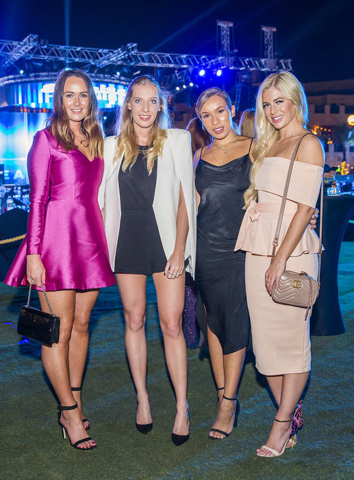 Claudia Stokes, Erin Dollard, Yasmin Lawton and Sarah Hunt