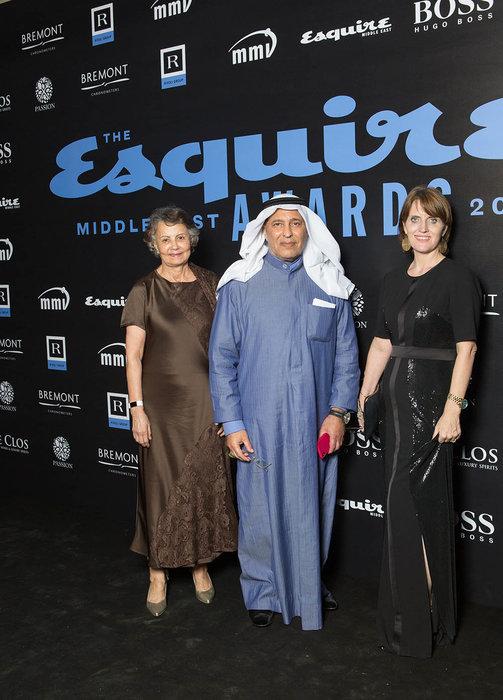 Dr Labiba, Sheikh Mubarak and Sue Holt