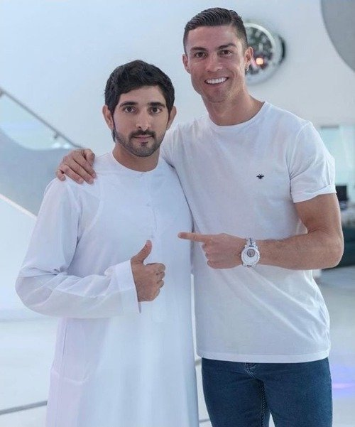 Cristiano ronaldo, #dubai, Juventus, Portugal, Ronaldo, Globe Soccer Awards, Georgina Rodriguez, FIFA, Sheikh Hamdan