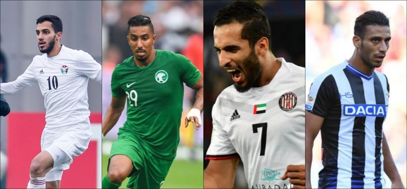 Arab footballers, Football, AFC Asian Cup, UAE