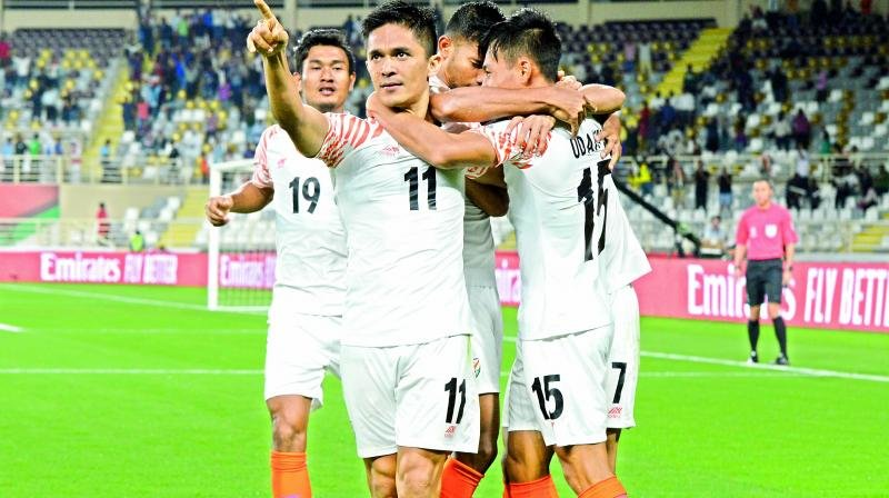 Asian Cup, India, Indian Football Team, UAE, #football