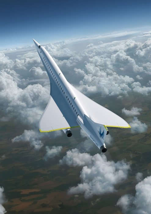 Supersonic plane, Airline, High-tech