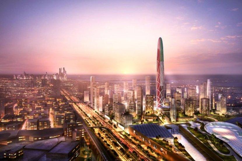 Dubai, Burj Jumeira, Dubai Mega Project