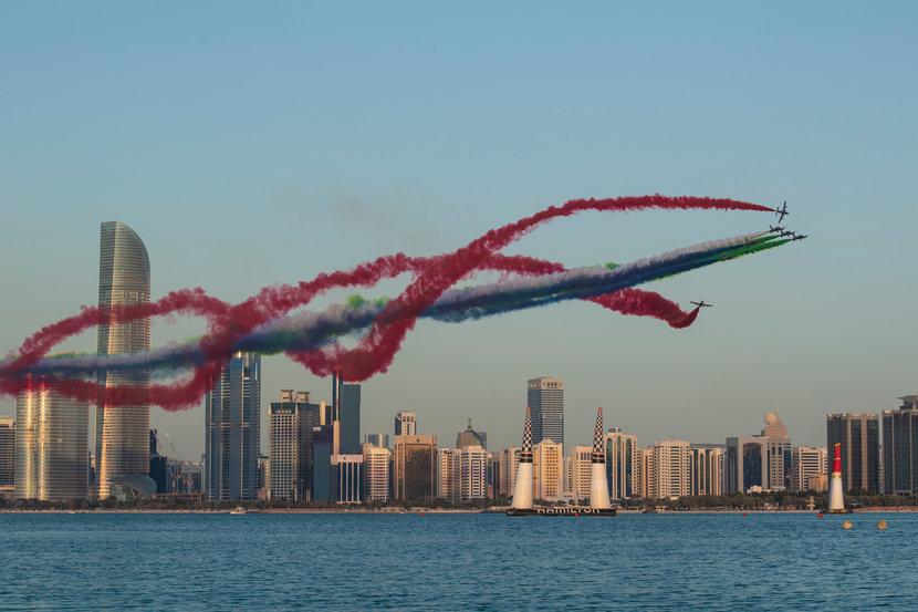 Red Bull Air Race, Red Bull, Abu dhabi