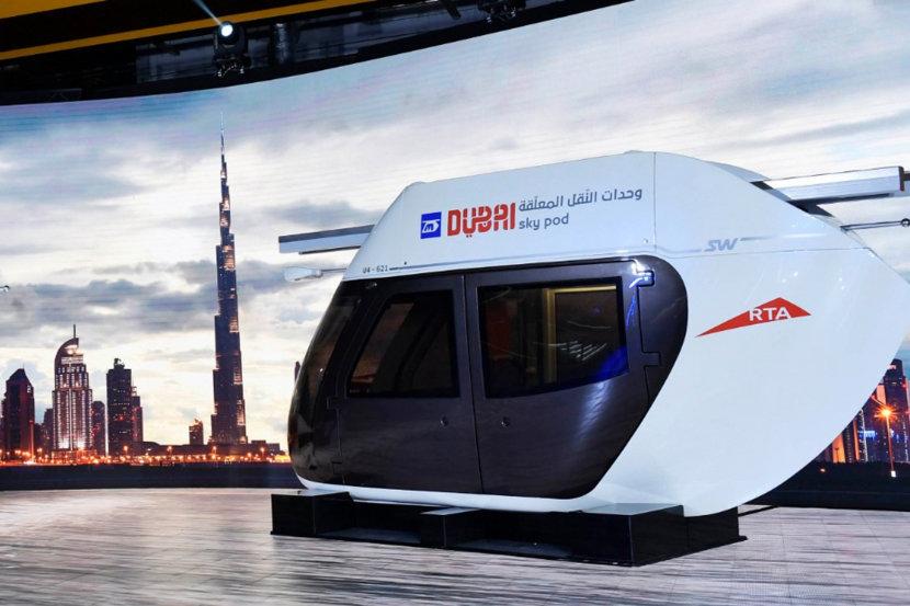 Sky pods, Dubai, Future technology, #futuristic