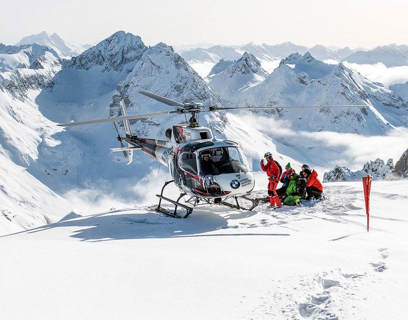 Heli-Skiing, Skiing